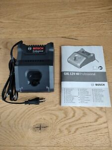 Bosch 1600A019R4 GAL 12v-40 Professional Charger Quick Charger. EU plug.
