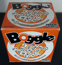Boggle the 3 minute word game by Parker. 2003 complete