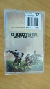 SEALED O Brother Where Art Thou? Cassette Motion Picture Soundtrack Audio Tape