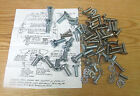 1955 56 1957 CHEVY STATION WAGON TAIL GATE HARDWARE KIT Upper & Lower 126 pieces