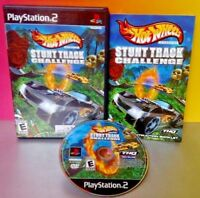 Hot Wheels Stunk Track Challenge - PS2 Playstation 2 COMPLETE Game Tested PS2