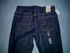 NWT NEW young mens dark denim blue URBAN PIPELINE straight regular fit jeans $44