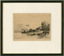 James McArdle - Signed Mid 19th Century Etching, Castle Urquhart