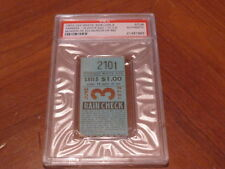 June 3, 1972 Yankees vs White Sox Munson HR 20 Murcer HR 80 Stub PSA Cert