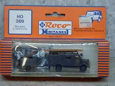 Roco Minitanks (NEW) 1/87 WWII German Mercedes L1500 LF8 Fire Truck  Lot #3004K