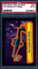 1976 Topps Star Trek Stickers — The Romulan Vessel #22 — PSA 5 — HIGH END