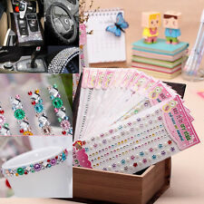 1Pcs DIY Acrylic Self-Adhesive Diamond Crystal Sticker for Phone Car PC Computer