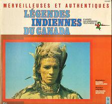 """OSWALDO MONTES """"LEGENDES INDIENNES DU CANADA"""" ANTENNE 2 LP LE PETIT MENESTREL"""
