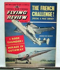 July 1961 ROYAL AIR FORCE FLYING REVIEW Magazine