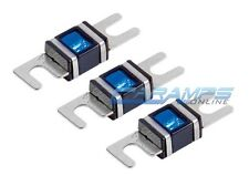 XSCORPION 100 AMP 3 PACK PLATINUM MINI ANL (AFS/MIDI) WAFER FUSES WITH LED LIGHT
