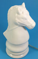 White Horse Head Night Light Lamp