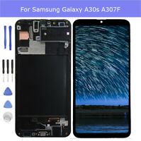 For Samsung galaxy A30s A307FN LCD Touch Screen Digitizer Assembly With Frame DL