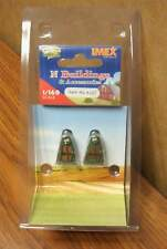 IMEX N SCALE SINGLE FUEL TANK (2 pcs.) RESIN BUILT-UP BUILDING