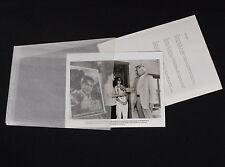PSYCHO III 1986 * ANTHONY PERKINS * CANDID PHOTO SET WITH CAPTION SHEET * MINT!!