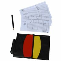 Box for football match referee red and yellow cards B4D8 8I