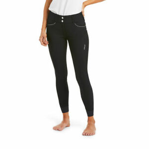 Ariat Ladies Tri Factor X Grip Breeches - Black