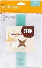 """CRICUT CUTTLEBUG 5""""x7"""" Embossing Folder/Border Set FIESTA 3D"""