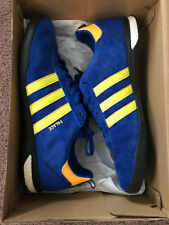 adidas Originals x Palace Indoor Soccer Shoes Size Us 11 Blue Gold Yellow Used