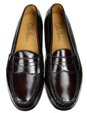 Cole Haan Mens Pinch Penny Loafers Size 9.5E Burgundy Leather Moc Toe $159