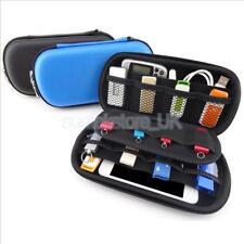 Portable Storage Hard Case Bag Holder for SD TF Card Earphone Earbuds Black