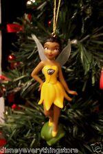 DISNEY TINKER BELL FAIRY FRIENDS IRIDESSA CUSTOM CHRISTMAS ORNAMENT NEW SO CUTE
