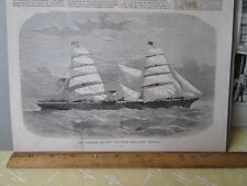 Vintage Print,LIVERPOOL+NEW YORK,Steam Packet,Chicago