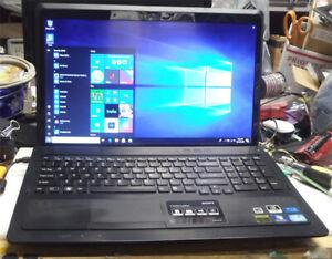 Sony VAIO VPCF22 N10 1080P Intel i7-2630QM 2.0G 500gb Hard drive 8GB RamBlueray