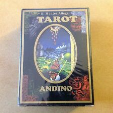 VERY RARE & UNIQUE ANDEAN TAROT ANDINO DECK CARDS by E. MONTES ALEAGA NEW SEALED