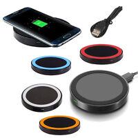 Qi Wireless Caricabatterie Pad per Samsung Galaxy S6 edge + S7 Edge Note 5 7 PR1