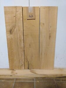 3 Eichenbretter  Board Holz länge ca 81cm Breite 21 cm dicke 2,7  cm