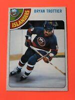 Brian Trottier 1978-79 O-Pee-Chee NHL Hockey Card #10