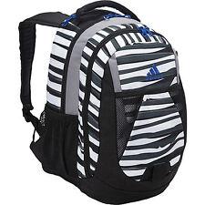 New Adidas Dillon Print Backpack Parastripe White/power Blue 5133124 Bag