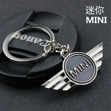2017 Hot MINI COOPER CAR KEY CHAIN KEYRING WITH MINI LOGO STEEL GIFT KEYCHAIN