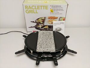 VonShef 1200W 8 Person Raclette Grill  H7
