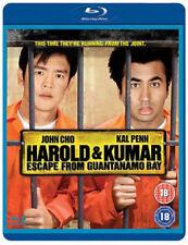 Harold & Kumar ESCAPE FROM GUANTANAMO BAY BLU-RAY NEU Blu-ray (ebr5098)