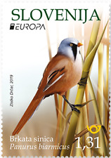 SLOVENIA 2019 CEPT EUROPA NATIONAL BIRDS 2 STAMPS PREORDER 31-5-19