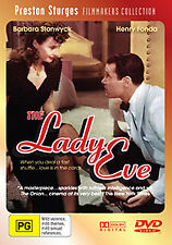 Barbara Stanwyck Henry Fonda THE LADY EVE - SCREWBALL COMEDY CLASSIC DVD