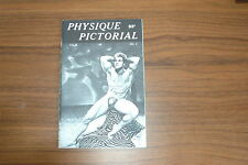 PHYSIQUE PICTORIAL VOL 9 #3 50s VINTAGE MAGAZINE BOYS ART BEEFCAKE GAY MALE NUDE