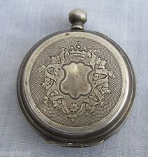 OLD POCKET WATCH ECHAPPEMENT CYLINDRE E. CHATELAIN GENEVE,FOR RESTORE OR PARTS