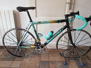 Bianchi EV3 Team Coast Teambike Pro Record 10s Team Cycling Bike Reparto Corse