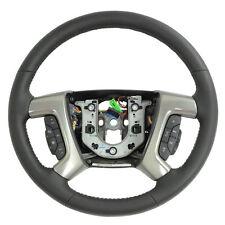 25995626 Steering Wheel Black Leather New OEM GM 2009 Hummer H2
