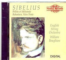 SIBELIUS - PELLEAS ET MELISAND, RAKASTAVA, VALSE TRISTE, Boughton, NIMBUS CD