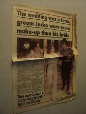 A008 MICHAEL JACKSON LISA MARIE PRESLEY 1994'  AUSTRALIAN CLIPPING