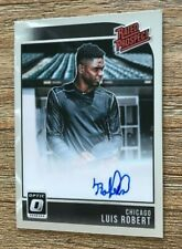 2018 Donruss Optic Luis Robert White Sox Rookie Autograph Auto