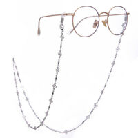 Four-Leaf Clover Eyeglass Chain Holder for Women Long Necklace Sunglass Cords