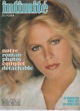 Revue Intimité N°1730 janvier 1979 roman-photo complet tricot