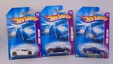 Lot of 3, Mattel Hot Wheels 1:64 scale TEAM: Exotics MIB
