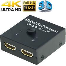 1x2 2x1 UHD 4K Bi Direction HDMI 2.0 Switch Switcher Splitter Hub Support HDCP