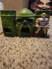 Vintage Mattel 1985 He Man Masters Of The Universe Castle Grey Skull 110 Camera