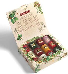 Yankee Candle Magical Christmas Morning 12 Votive / Sampler Candle Gift Set